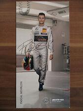 Autogrammkarte von *PASCAL WEHRLEIN* Mercedes AMG DTM Team Saison 2014 CHAMPION