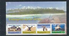 PAPUA NEW GUINEA PNG 2007 Wildlife TURTLES  MNH Minisheet (PAP 181)