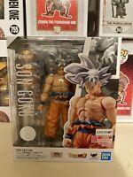 S.H.Figuarts Son Goku Ultra Instinct Dragon Ball Super Action Figure Bandai NEW
