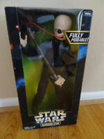 "Star Wars 12"" Figure  Action Collection  BARQUIN D'AN FULLY POSEABLE! NIB."