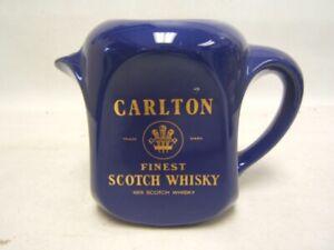Carlton Scotch Whiskey Pitcher Excellent Condition Pub Jug Euroceramics
