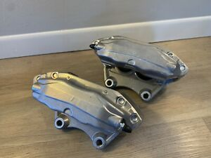 NISSAN 350Z INFINITI G35 CALIPERS LH RH FRONT SET 03-08 Pair Unpainted