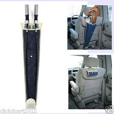 Foldable Car Umbrella Holder Organizer Storage Bag Waterproof Cover -Dark Blue
