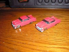 Nice Lot of 2 Hot Wheels McD Happy Meal toys 2K57 GLO-RIDER Hot Rod Lowrider