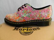 Dr Martens Smiths Daze Chaussures 42 Multi Flowers Fleurs Backhand 22572102 UK8