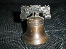 Vintage Cast Iron Liberty Bell Bell