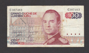 100 FRANCS  FINE BANKNOTE FROM BELGIUM PICK-57