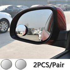 Mini Car Rearview Mirror Blind Spot Side Rear View Convex Wide Angle Adjustable