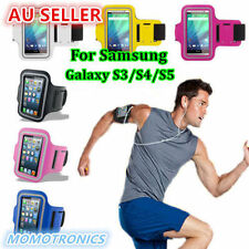 BLACK Rain-proof Samsung Galaxy S3 S4 Gym/Sports Arm Band Running & Walking