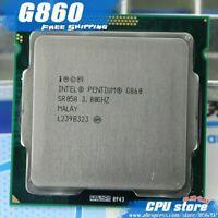 CPU 1155 Pentium G860 3.0 GHZ SR058 Douille H2 LGA1155 Intel Processeur Deuxième