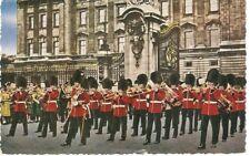 The Guards Band Outside Buckingham Palace London.