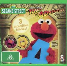 Sesame Street - Elmo and Friends - Tales of Adventure - Brand New - Region 4