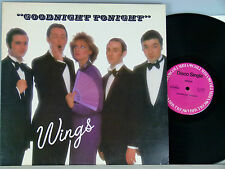 "Wings -Goodnight Tonight (12"" Maxi)  USA-1979  Columbia 23-10940"