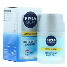 Nivea Men Active Energy Refreshing Face Gel Vitamin Complex 50ml - Brand New