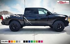 Decal Sticker Side Bed Mud Splash Kit for Dodge Ram 1500 Rear Tail Light Flare
