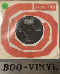 """THE RAN-DELLS ~ Martian Hop  Vinyl 7"""" Record HLU 10450 Ex / Vg+"""