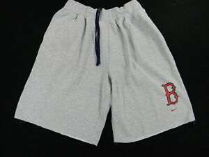 Boston Red Sox Nike Spring Training Sweat Shorts (Mens XL) Gray
