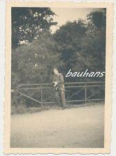 Foto Offizier Luftwaffe mit Dolch  2.WK  (e247)