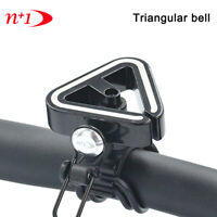 N+1 Classic Triangle Bell Mountain Bicycle Cycling Handlebar Bell 19.2-31.8mm AL