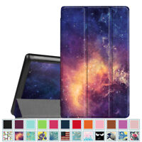 For New Amazon Fire HD 8 8th Gen 2018 Tablet Case Cover Stand Shell Wake / Sleep
