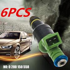 6pc Fuel Injectors for Holden Commodore VP VR VG VN VX VY VL VQ VS VT VU V6