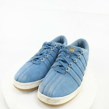 K Swiss Womens Blue Round Toe Low Top Lace Up Athletic Shoes Size US 8.5