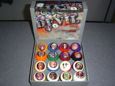 "Famous Devil Billiard Pro Pool Ball Set * Ball Size 2 1/4""  *Rare Find* L@@K"