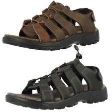Sandali e scarpe casual neri per il mare da uomo velcro