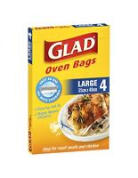 Glad Oven Bags Large 4's