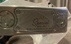 NEW Titleist Scotty Cameron Special Select Squareback 2 35'' Putter + Cover