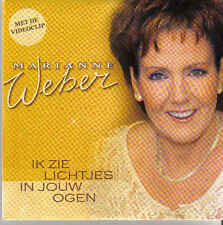 Marianne Weber-Ik Zie Lichtjes In Jouw Ogen cd single