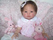 Lee Middleton MUNCHKIN REBORN Baby Girl Doll 3/4 Limbs Adorable Collectible OOAK