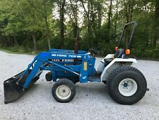 Ford 1320 compact tractor 4x4 with Loader