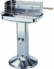 """Holzkohlegrill """"Austin"""" von El Fuego aus Edelstahl Grill BBQ Barbecue Säule"""