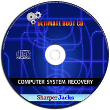 ULTIMATE COMPUTER REPAIR / DATA / PASSWORD / VIRUS / RECOVERY - SYSTEM RESCUE CD