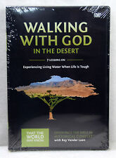 New Walking With God In The Desert DVD Vol 12 Ray Vander Laan Faith Lessons