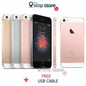 Apple iPhone SE -16/32/64GB - Unlocked - All Colours - Black Gold S