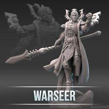 space hammer 40k Eldar warseer model 3D printed proxy