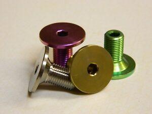 Diabolic titanium spindle & sprocket bolts fits odyssey twombolt thunderbolt