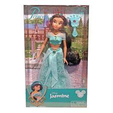 disney parks princess jasmine with jeweled hair brush doll toy new with box