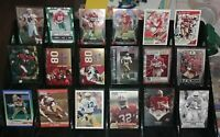 49ers legends RC rookie insert Chrome Prizm #d lot Jerry Rice Ricky Watters