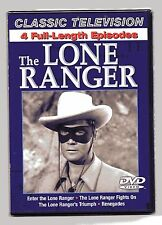 The Lone Ranger Classic Television 4 Full Length Episodes New