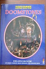 Warhammer Fantaisie Jeu de Rôles Doomstones Mort Rock