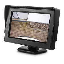 """4,3"""" Zoll TFT Monitor Bildschirm für Rückfahrcamera Video Rückfahrsystem 4:3 LCD"""