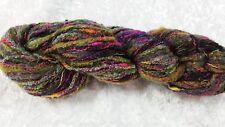 Noro Mossa #14 Green Yellow & Brown Tones Wool Silk & Mohair Blend 50g