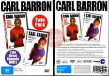 CARL BARRON - LIVE + WHATEVER COMES NEXT =2-DVD BOX NEW (Region 4 Australia)