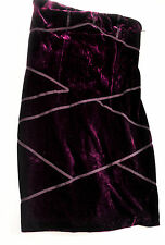 NWT! GORGEOUS PURPLE VELVETEEN TIGHT SHORT SEXY PARTY DRESS SIZE JUNIOR SMALL