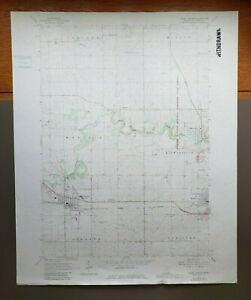 "Dodge Center, Minnesota Original Vintage 1982 USGS Topo Map 27"" x 22"""