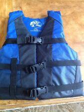 Youth Life Jacket USCG TYPE 3 50-90 lbs Blue Preserver Ski Vest Bass Pro Shops