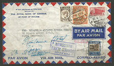 COLOMBIA. 1940. WW2. AIR MAIL COVER TO FRANCE REDIRECTED TO BELGIUM. MANCOMUN AN